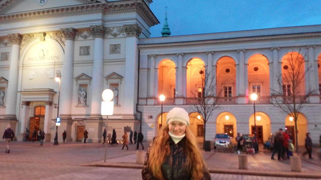 Первый визит в Варшаву